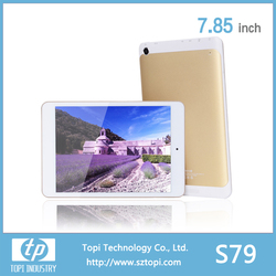 S79 7.85 inch WIFI Android Tablet PC with external 3G Quad Core Tablet PC and Big battery for 4000 mAh.