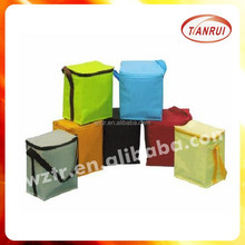 customized cute takeout non woven new style thermal lined cooler/ice bags for hot and cold thermal bag