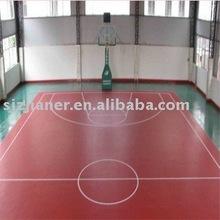 PVC Indoor Flooring for Basketball Venues