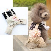 Fashion Show Hot Ssle Collar Winter Outwear for Pets Wholesale Dog Costume