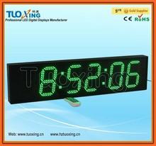 6 polegada 6 chiffres led chronométrage sportif minuterie numérique pour douche