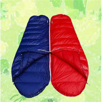 wholesale down cool weather camping sleeping bag