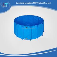 Waterproof Folding Round Fish Tank, Durable foldable fish tank, KOI feeding fish tank