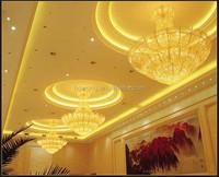 India hotel pendant Light, corridor ceiling light,iron crystal pendant lamp