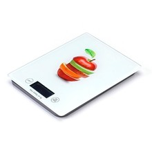 Russia 2015 new fullcolor wall mount digital kitchen scale