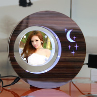 LED suspending in the air magnetic levitation photo frame kids promotional gift