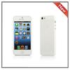 Fashionable transparent color plain hard case cover for iphone 5