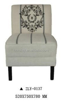 Italian royal wedding cheap wholesale one side sofa chair/living room leisure super comfortable sofa chair