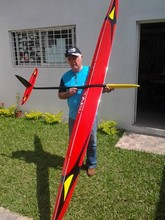 Tabu F3B -- RC model glider rc airplane 6ch rc glider of RCRCM