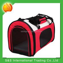 tote or shoulder foldable pet travel bag carrier for cat or dog