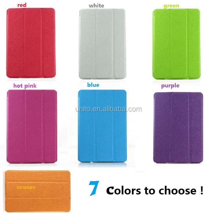 Hot sale Rough stand leather flip smart cover case for ipad mini 3 2 1 generation