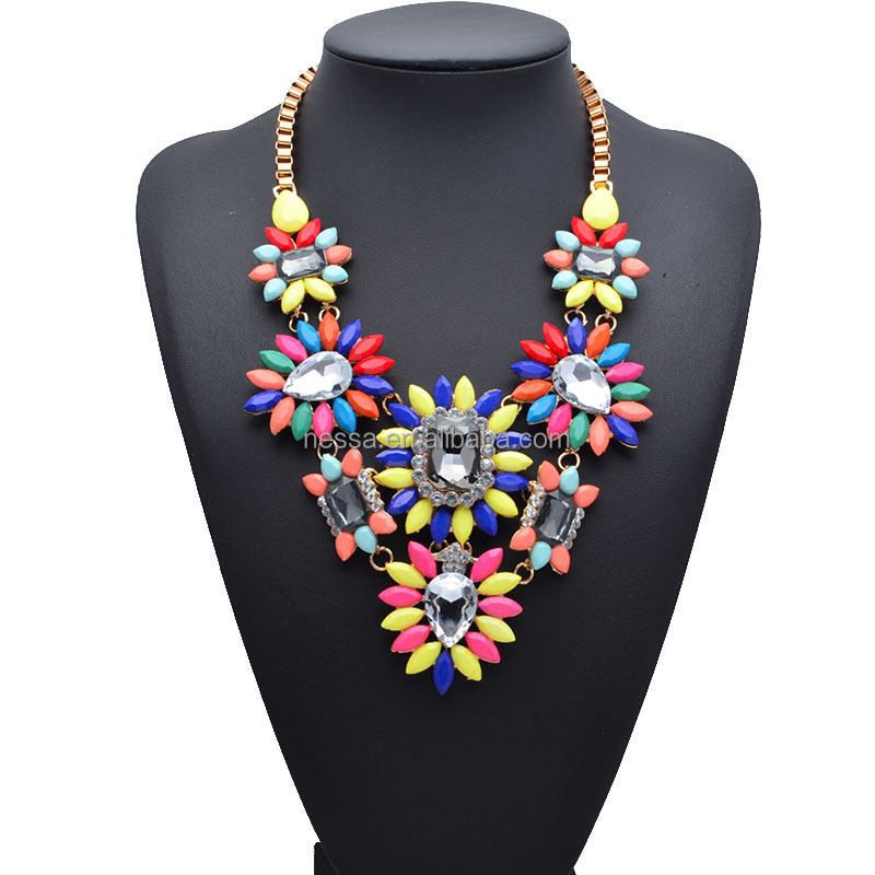 Fashion statement necklace,wholesale jewelry los angeles california