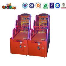 Qingfeng hot hoops basketball game electronic simulator basketball game machine for kids