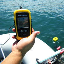 Newest 100m Portable Sonar Sensor Fish Finder Alarm Transducer, wireless fish finder