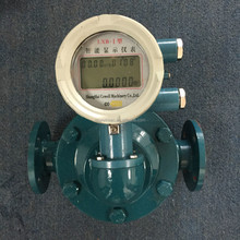 Electronic Oval gear flow meter for oils