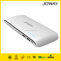 10000mAh power bank JP37, with dual USB output, charge for iPad/iPhone/Android phones and MIDs.