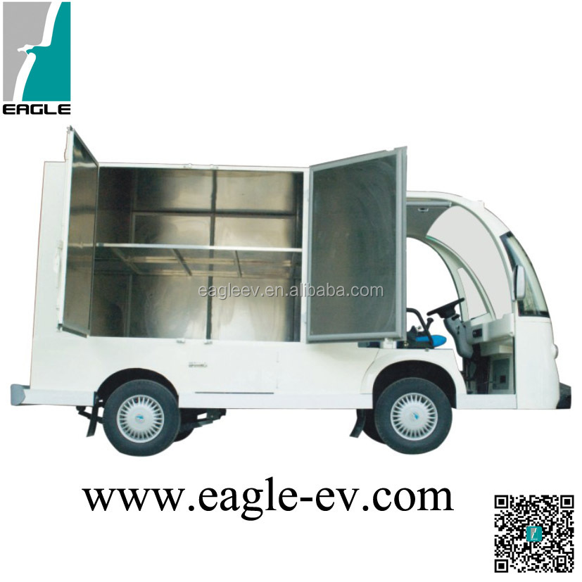 Hotel room service cart electric big dining box eg6088t for Hotel room service cart