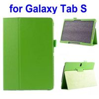 Litchi Texture Leather Flip Case for Samsung Galaxy Tab S 10.5 T800