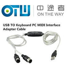 Hiqh Quality USB TO Keyboard PC MIDI Interface Adapter Cable