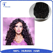 Smooth And Gloosy Unprocessed Cheap Remy Virgin peruvian Human Hair Weave Curly
