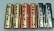 Super good news!!!Full Mechanical 18650 Battery With top quality Apollo Mods 1:1 Clone Apollo Copper Mod Apollo Mod