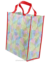 2015 High Style PP Non Woven Foldable shopping bag with printing
