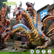 Dragón animatrónico en caucho de silicona