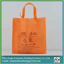 charming Custom non woven handle tote bag
