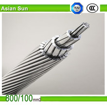 Factory Supply Overhead Application Bare Conductor Penguin Linnet Raven Dove Swan Dog AAC ACSR Cable Conductor