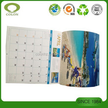 Print calendar by Chinese manufacturer