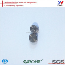 OEM ODM ROHS certified factory price stainless brushed metal lid