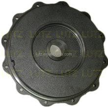 Big machining cast iron pump casing artificial casing