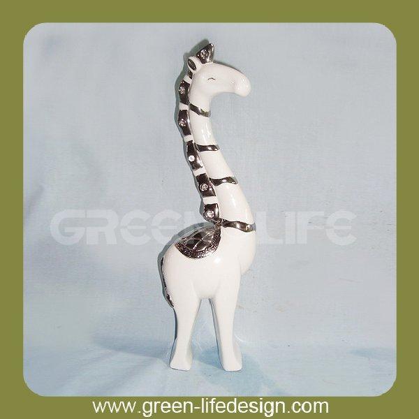 porcelana decoração de <span class=keywords><strong>natal</strong></span> <span class=keywords><strong>girafa</strong></span>