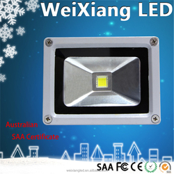 Weixiang best selling die-cast aluminum ip65 ce rohs saa approved flood light livarno lux led 10w