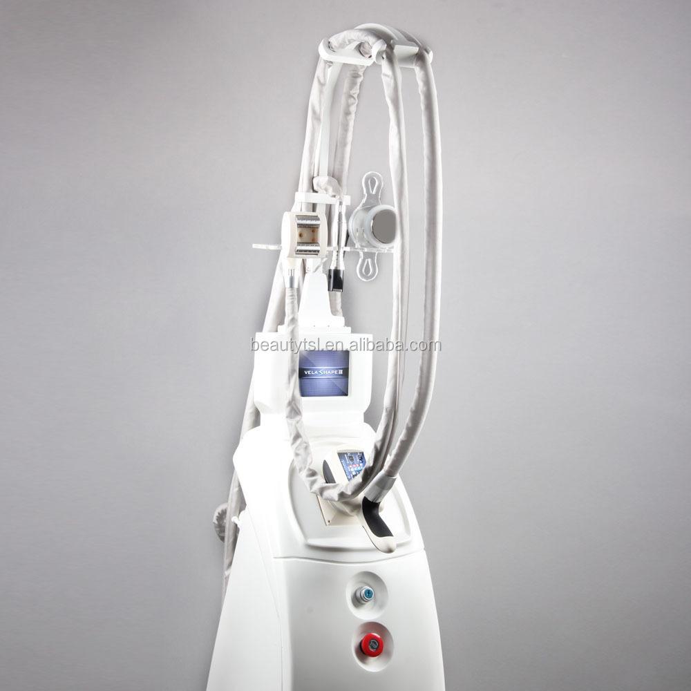Salon professionnel Velashape Cellulite Réduction Équipement avec Vide Laser RF Cavitation Minceur Machine