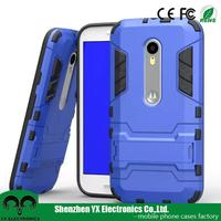 cheap price stylish design mobile phone cover for moto g3