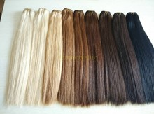 Wholesale Factory Price Brazilian Italian Weave Human Hair Extensions With Various Color