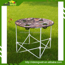 2015 the most hotsale popular Folding Camping Round Table