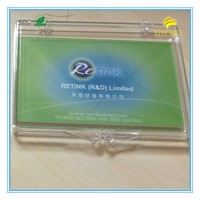 93*68*10MM plasitc storage packing box for business card