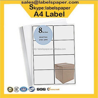 Avery Compatible A4 Label, 8 Labels/sheet