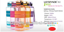 Promotional water bottle with 1.5L big capacity