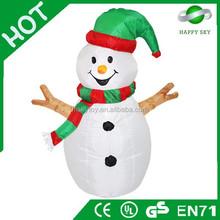2015 Christmas hot sale Santa Suit,inflatable advertising man,walking billboard
