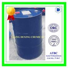 Acetyl Tributylcitrate, ATBC, tributyl ester, 77-90-7, plasticizer
