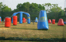 Inflatable paintball equipment /paintball bunkers