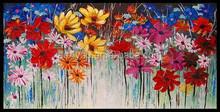 Wholesale prosperous flower knife oil painting design 41493