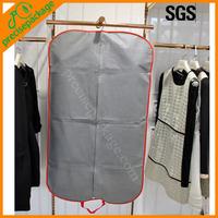 Promotional folding non woven garment packaging bag