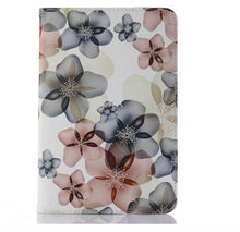 Fancy wallet leather protect cover case for ipad mini , case for ipad mini