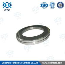 solid tungsten carbide rod manufacturer excellent finished tungsten carbide cold roller ring auto parts in china