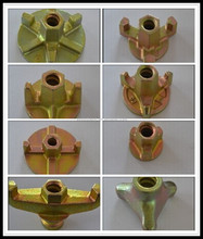 Formwork Wing Bolt and Nut manufacturer with Furnace Pouring and Heat Treatment