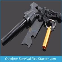 NEW products Magnesium Fire starter, flint firesteel ,fire starter for outdoor activity Survival Kit